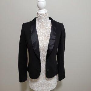 Gap Black Tuxedo Blazer